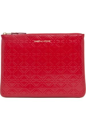 Comme des Garçons Bags - Star Embossed Pouch in