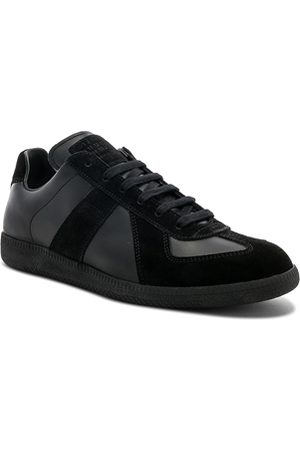 Maison Margiela Sneakers - Soft Leather & Velour Replica Sneakers in