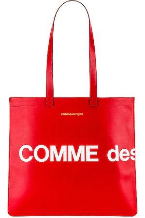 Comme des Garçons Huge Logo Tote Bag in