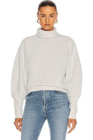 AGOLDE Turtlenecks - Extended Rib Sweatshirt in