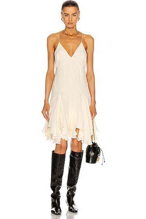 Khaite Harlequinn Dress in Neutral