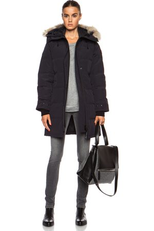 Canada Goose Shelburne Parka with Coyote Fur in Black