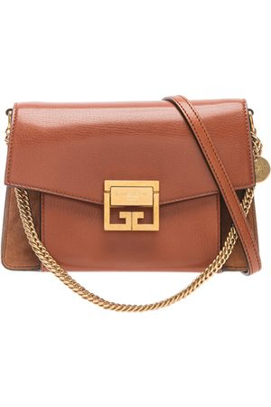 Givenchy Shoulder Bags - Small Leather & Suede GV3 in
