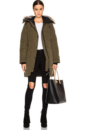 Canada Goose Shelburne Parka with Coyote Fur in