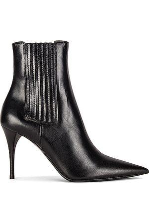 Saint Laurent Boots - Lexi Elastic Booties in