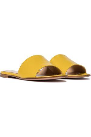 Gianvito Rossi Capri leather sandals