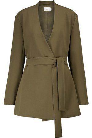 Frankie Shop Belted blazer