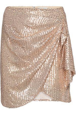 Caroline Constas Koren sequined wrap miniskirt