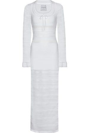 Alaïa Edition 1993 Knit midi dress