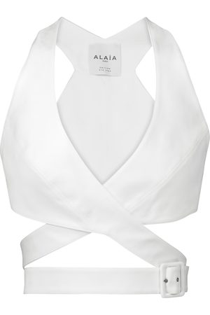 Alaïa Edition 1984 cotton bralette