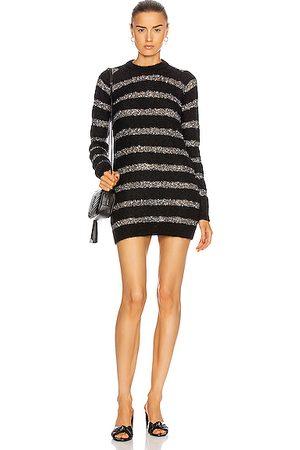 Saint Laurent Party Dresses - Striped Mini Dress in ,Metallic,Stripes