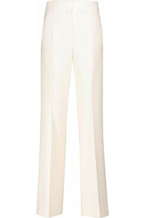 Dorothee Schumacher Sophisticated Perfection crêpe flared pants