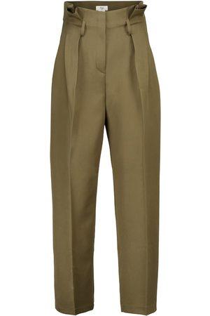 Frankie Shop Belted paperbag pants