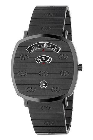 Gucci Grip Watch in Metallic