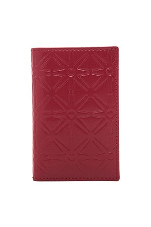 Comme des Garçons Wallets - Star Embossed Bill Fold in
