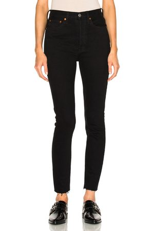 RE/DONE ORIGINALS High Rise Ankle Crop in