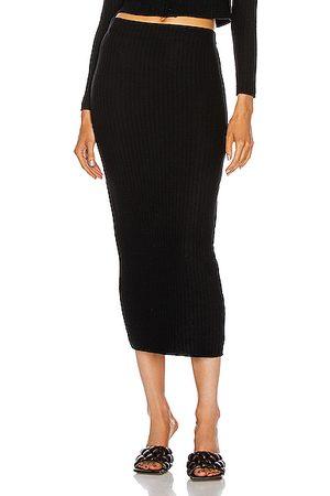 ENZA COSTA Pencil Skirts - Sweater Rib Pencil Skirt in