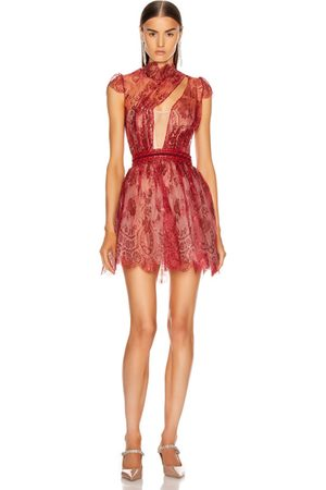 Aadnevik Party Dresses - French Lace Mini Dress in