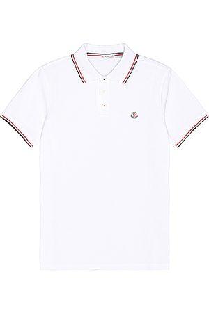 Moncler Short Sleeve Polo in