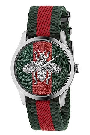 Gucci G-Timeless Watch in , ,Stripes