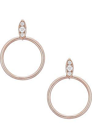 CARBON & HYDE Earrings - Lucienne Hoops in Metallics