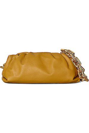 Bottega Veneta The Chain Pouch Bag in Brown