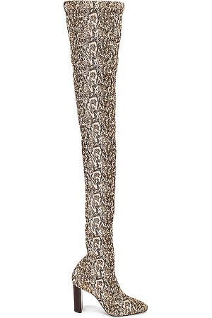 Saint Laurent Thigh High Boots - Moon Boots in