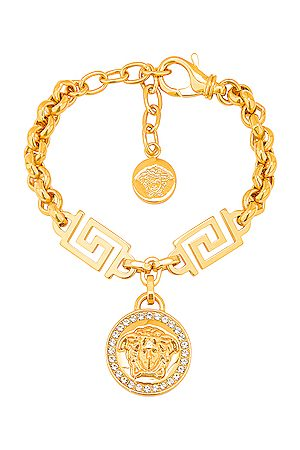 VERSACE Bracelets - Coin Bracelet in Metallic