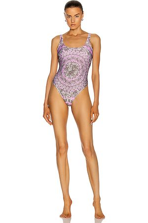 VERSACE Swimsuits - One Piece Swimsuit in Floral,Paisley