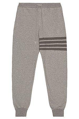 Thom Browne Sweatpants - 4 Bar Loopback Sweatpants in