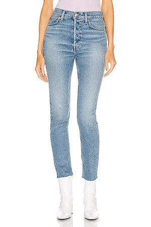 RE/DONE 90's High Rise Ankle Crop in
