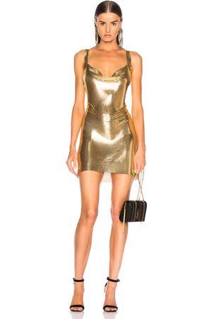 FANNIE SCHIAVONI Dresses - Metal Mesh Dress in Metallic