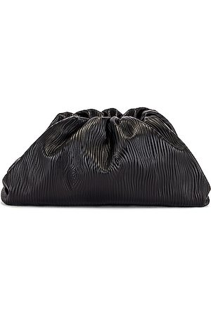 Bottega Veneta Clutches - Leather Bark Pouch Clutch in