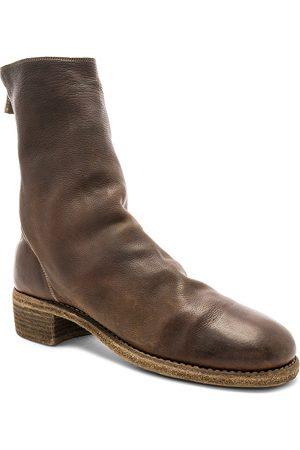 GUIDI Boots - Baby Buffalo Full Grain Back Zip Boots in