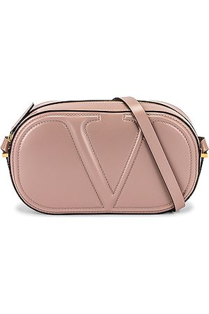 VALENTINO Shoulder Bags - V Crossbody Bag in Neutral