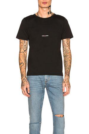 Saint Laurent T-shirts - Logo Tee in