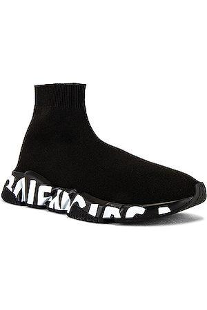 Balenciaga Speed Lt Graffiti Sneaker in