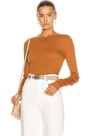 ENZA COSTA For FWRD Fitted Long Sleeve Crew in ,Neutral