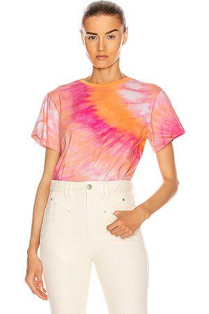 Retrofete Tie Dye T-Shirt in Ombre,Tie Dye,