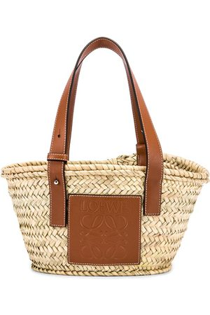 Loewe Basket Small Bag in ,Neutral