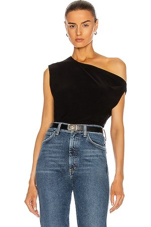 Norma Kamali Drop Shoulder Top in