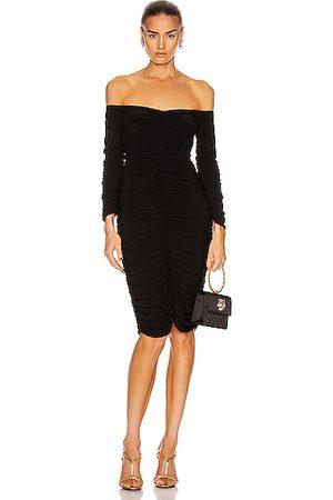 Norma Kamali Women Strapless Dresses - Off Shoulder Slinky Dress in