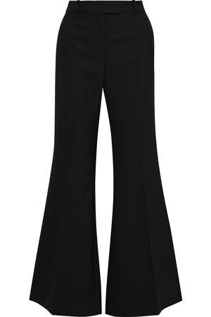 Joseph Woman Valmy Grain De Poudre Flared Pants Size 34