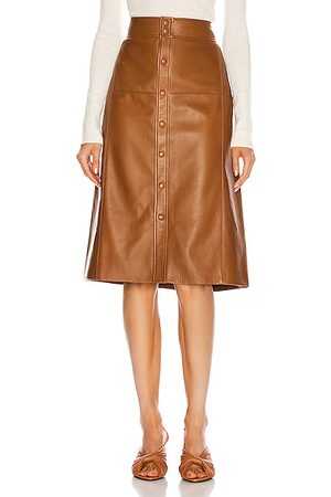 Saint Laurent High Waisted Skirt in