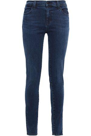 J Brand Woman High-rise Skinny Jeans Dark Denim Size 23