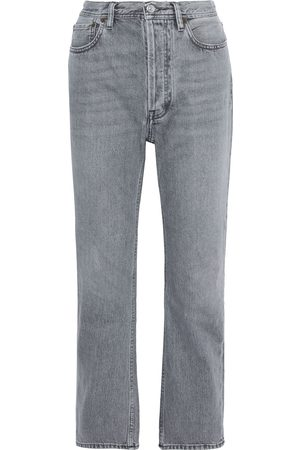Acne Studios Woman High-rise Straight-leg Jeans Size 25W-32L
