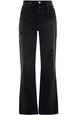 RE/DONE Woman Distressed Boyfriend Jeans Size 23