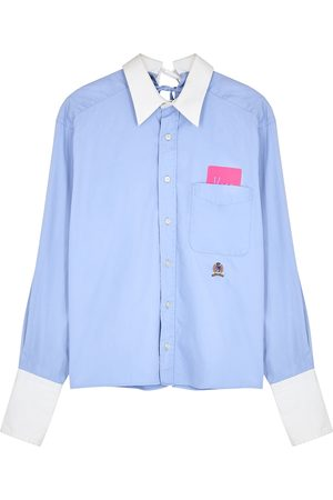 1/OFF Paris Tommy Hilfiger tie-embellished cotton shirt