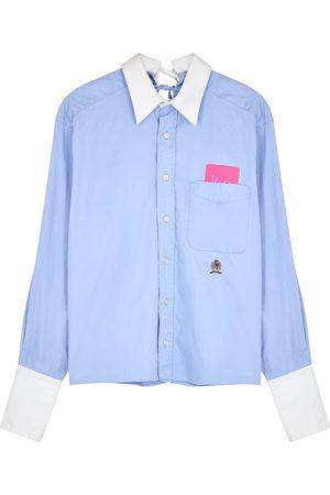 1/OFF Paris Tommy Hilfiger tie-embellished cotton shirt