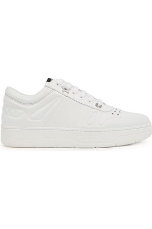 Jimmy Choo Women Sneakers - Hawaii/F leather sneakers